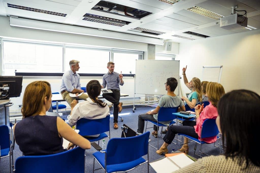 Social media workshop teaching Sydney businesses